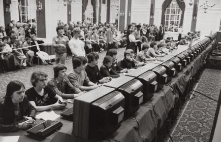 Il Campionato Nazionale di Space Invaders tenuto da Atari nel 1980