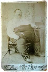 L'uomo più grasso del mondo, Leonard W. Whitton 1880