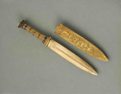 Il pugnale d'oro di Tutankhamon. 3300 anni