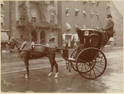Taxi a New York 1905