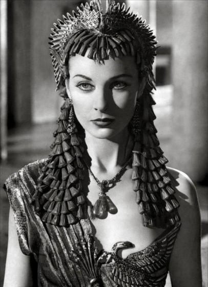 Vivien Leigh come Cleopatra