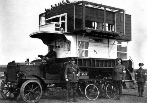 WWI Mobile Carrier for Pigeons