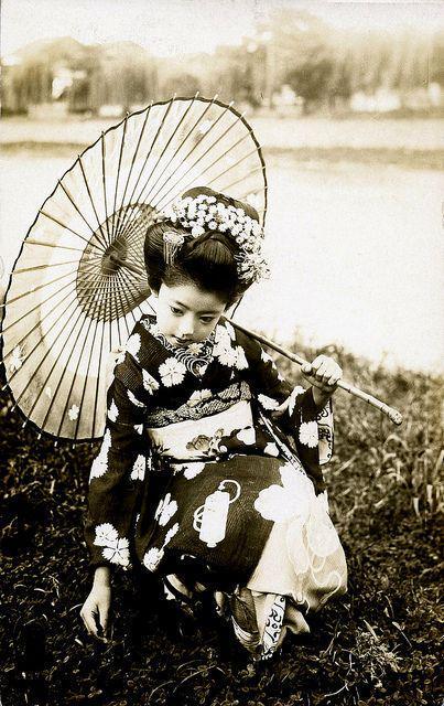 Giovane Maiko, anni 20