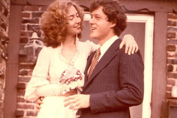 11 Ottobre 1975 - Matrimonio di Bill Clinton e Hillary Rodham