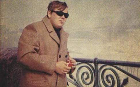 John Candy a 18 anni nelle Cascate del Niagara