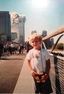 Un secondo prima di girare la testa e vedere cosa sta succedendo. STATI UNITI D'AMERICA. 11 set 2001