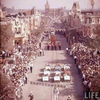 Disneyland - giorno di apertura nel 1955