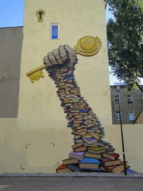 Education is the kay of knowledge by Marcin Barjasz