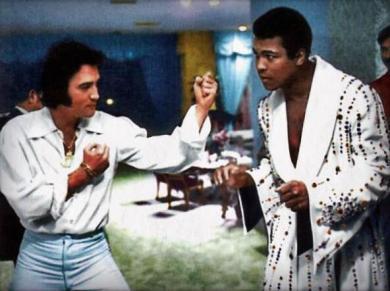 Elvis Presley e Muhammad Ali, 1973