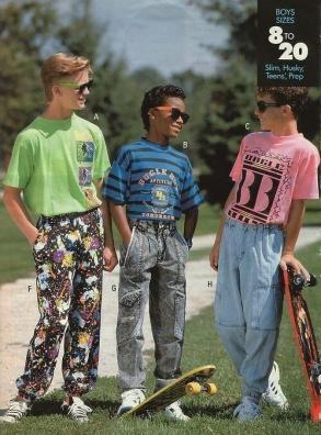 Moda nel 1991