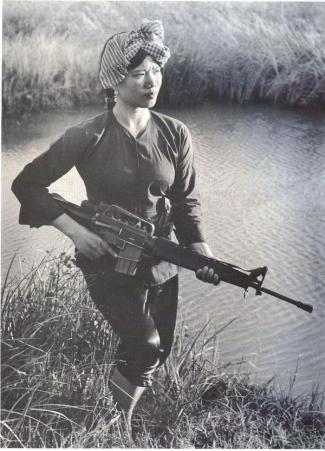 Guerriera Viet Cong, circa 1973