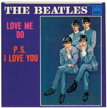 Nel 1962 i Beatles pubblicarono il loro 1 ° disco 'Love Me Do' nel Regno Unito