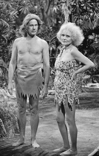 Johnny Carson e Betty White 1981