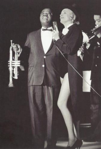 Louis Armstrong e Marlene Dietrich 1962