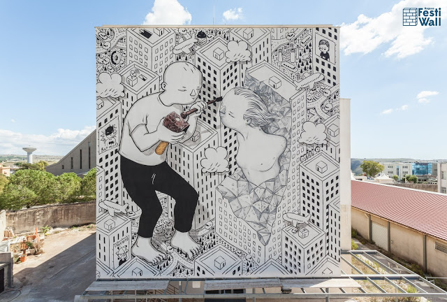 Streetart News [wall 26] – Millo (Italia) a Ragusa