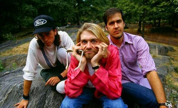 Nirvana a Central Park, New York, 1993