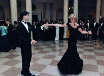 Principessa Diana balla con John Travolta, 1985