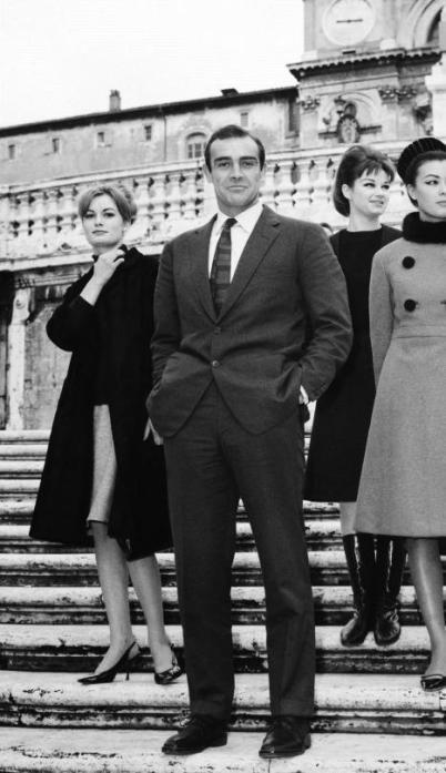Sean Connery, Roma 1963