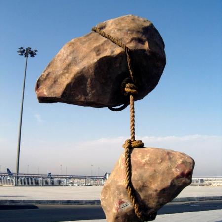 Aereoporto de Il Cairo - Scultura di Smaban Abbas