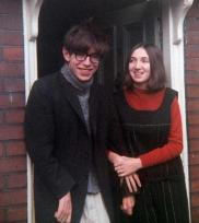 Stephen Hawking e sua moglie Jane Wilde, 1965