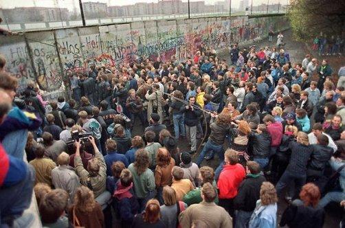 La caduta del muro di Berlino, 9 nov, 1989