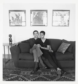 Gli Obama, Chicago, 1996. Fotografia di Mariana Cook