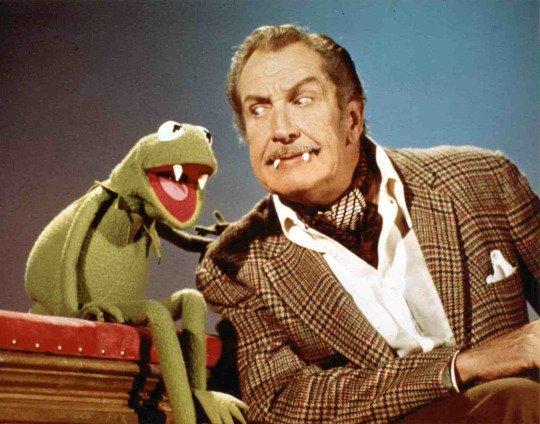 Vincent Price al The Muppet Show, 1976