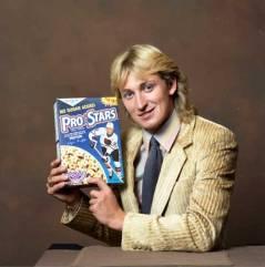 Wayne Gretzky vende cereali, anni '80