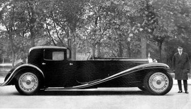 Una Bugatti Type 41 Royale