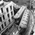 Un incidente ferroviario nel North Shore di Chicago il 24 mag 1953