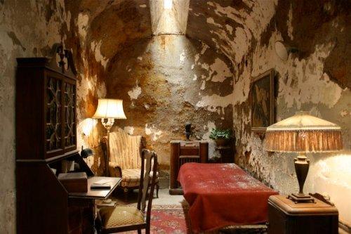 Cella di Al Capone dove ho trascorso nove mesi del 1929
