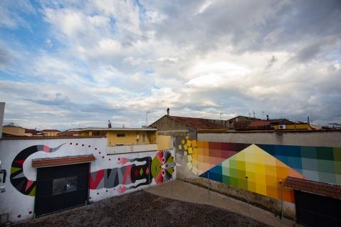 Alberonero e Gio Pistone @ Casapesenna in Campania