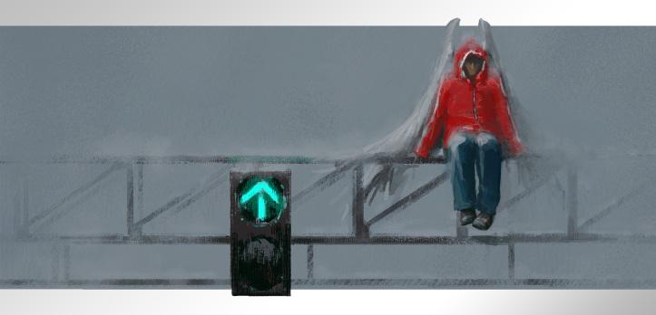 Suburban Angel by Alex Andreev