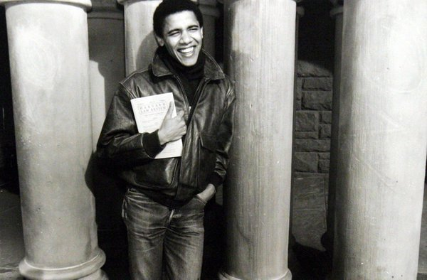 Barack Obama alla Harvard University, 1988