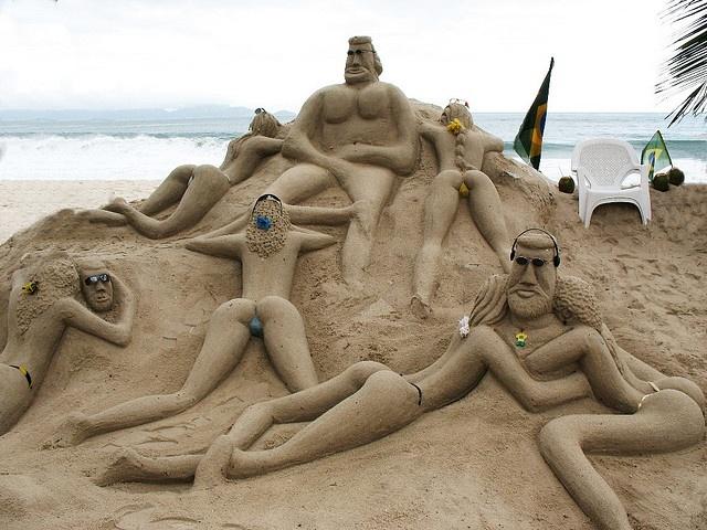 Castelli di sabbia (in stile Brazil)