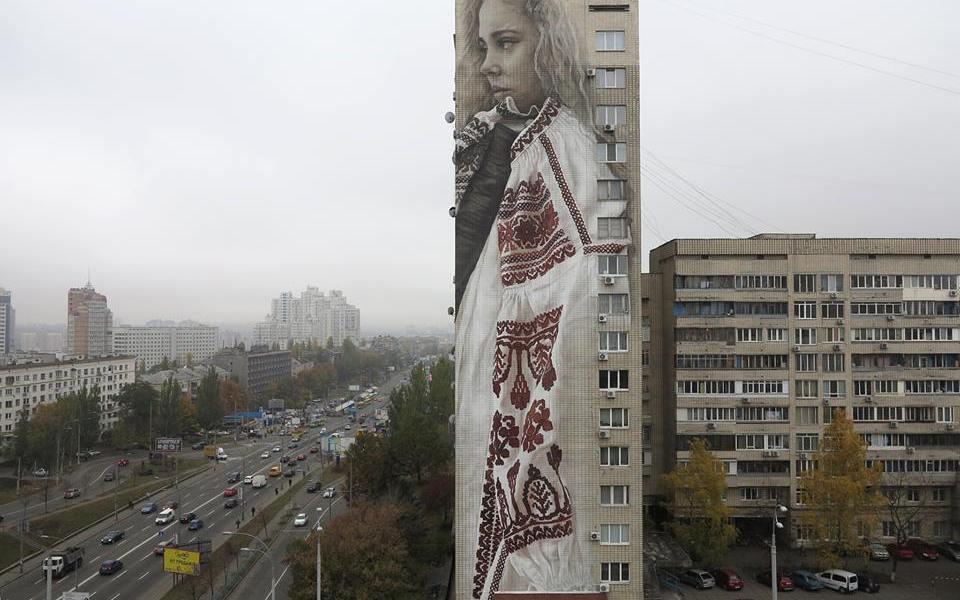 Guido van Helten @ Kiev