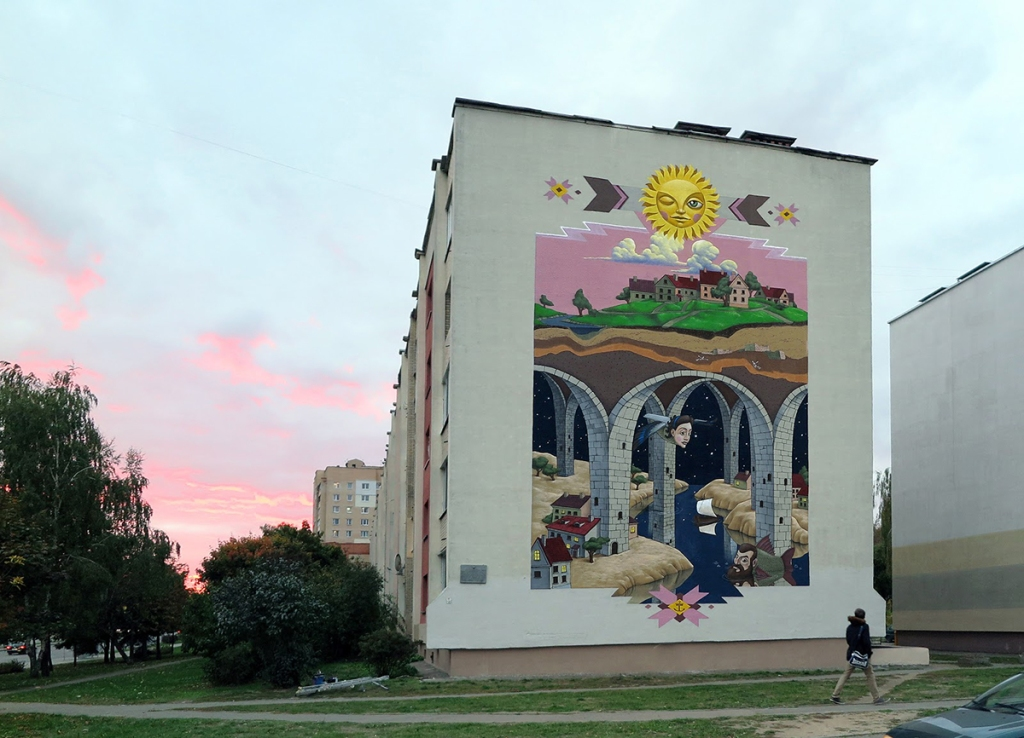 Kislow @ Minsk per Urban Myths Project