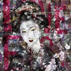 """Geisha Under The Glass"" by Matteo Giachetti"