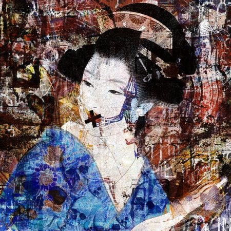 """Geisha Under The Glass"" by Matteo Giachetti"