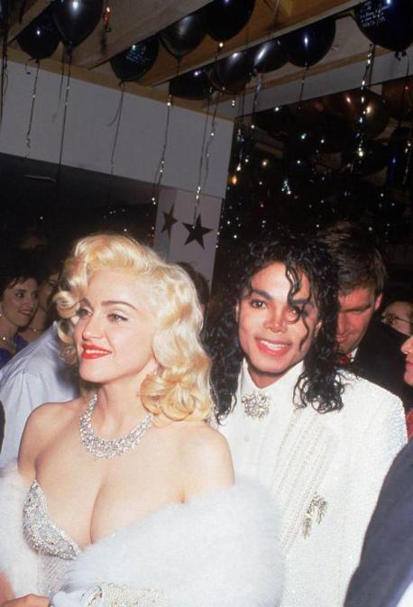 Michael Jackson e Madonna