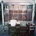 Uno dei primi computer, il MANIAC presso il laboratorio nazionale di Los Alamos nel 1952