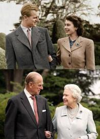 La regina Elisabetta e il principe Filippo, sposati dal 1947