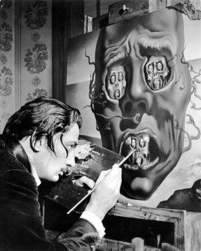 Salvador Dalí dipinge The Face of War, 1941