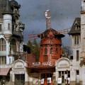 L'iconico Moulin Rouge (colorizzato) nel 1923