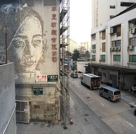 Vhils @ Hong-Kong