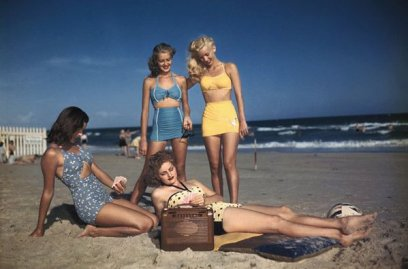Moda spiaggia anni 40