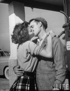 Bacio appassionato - 1950
