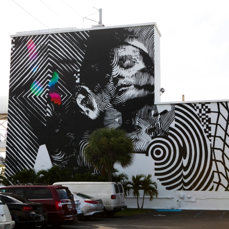 2Alas x Felipe Pantone @ Miami for Art Basel 2015