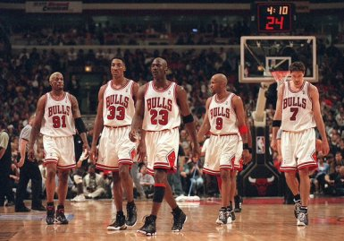 I Bulls negli anni 90