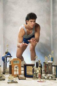 AC Slater e suoi trofei wrestling, 1990